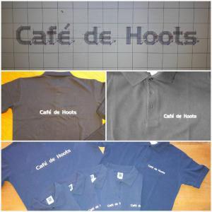 Daamen Borduren -Cafe de Hoots 1